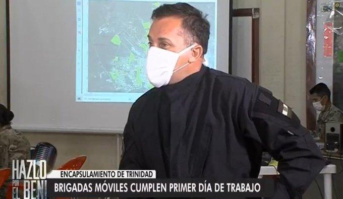 Rastrillaje «casa por casa» detecta el primer día 227 casos confirmados de Covid-19 en Trinidad