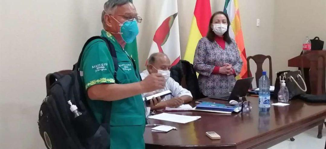 Roberto Tórrez y la ministra de Salud, Maria Eidy Roca sostuvieron una amistad de más de 35 años