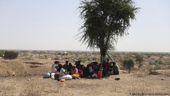 Refugiados etíopes de la región de Tigray. (16.11.2020).