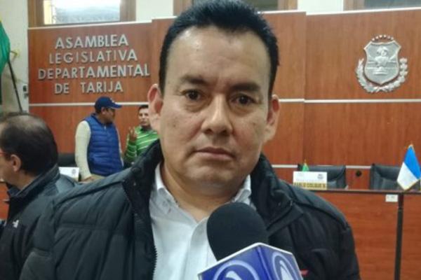 Guillermo-Vega - presidente-de-la-Asamblea-Departamental-de-Tarija Foto: LA VOZ TARIJA