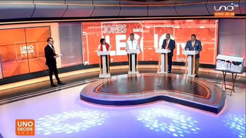 Pandemia, transporte y basura marcan la agenda del primer debate por la Alcaldía