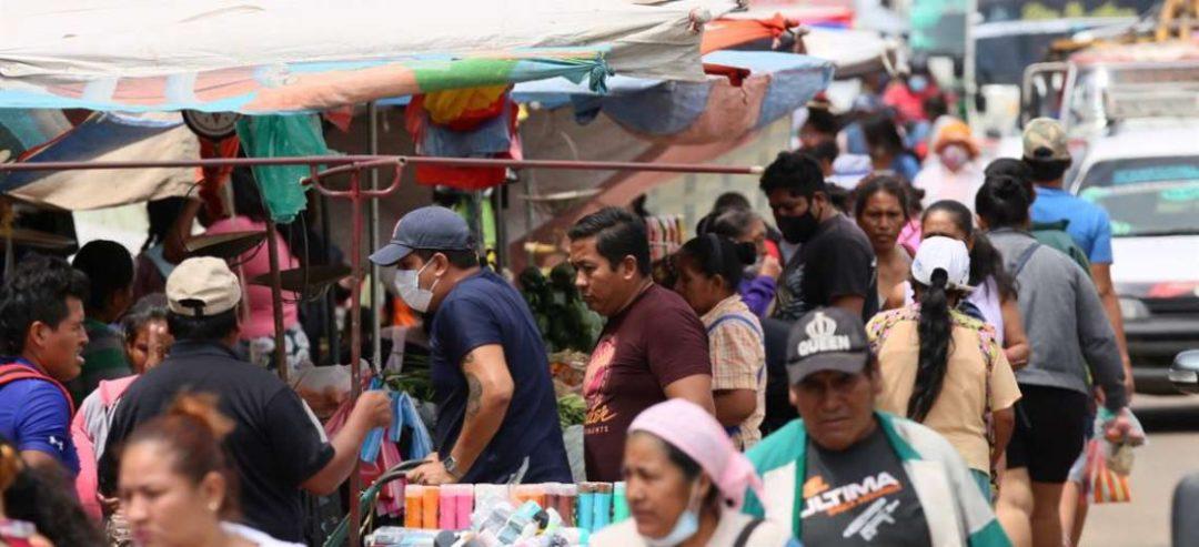 Las aglomeraciones continúan (Foto: Jorge Ibáñez)