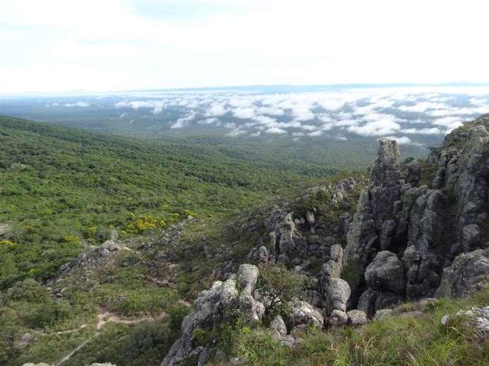 El asentamiento está en la entrada de la zona protegida