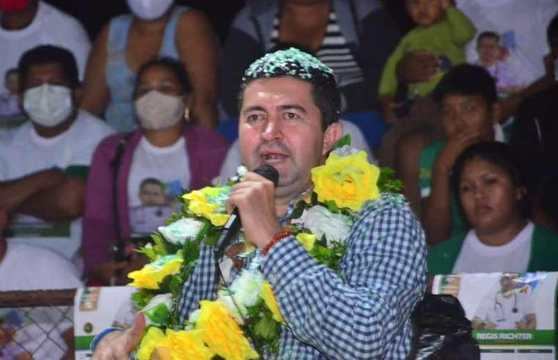 Regis Richter, gobernador electo de Pando. Foto. Internet