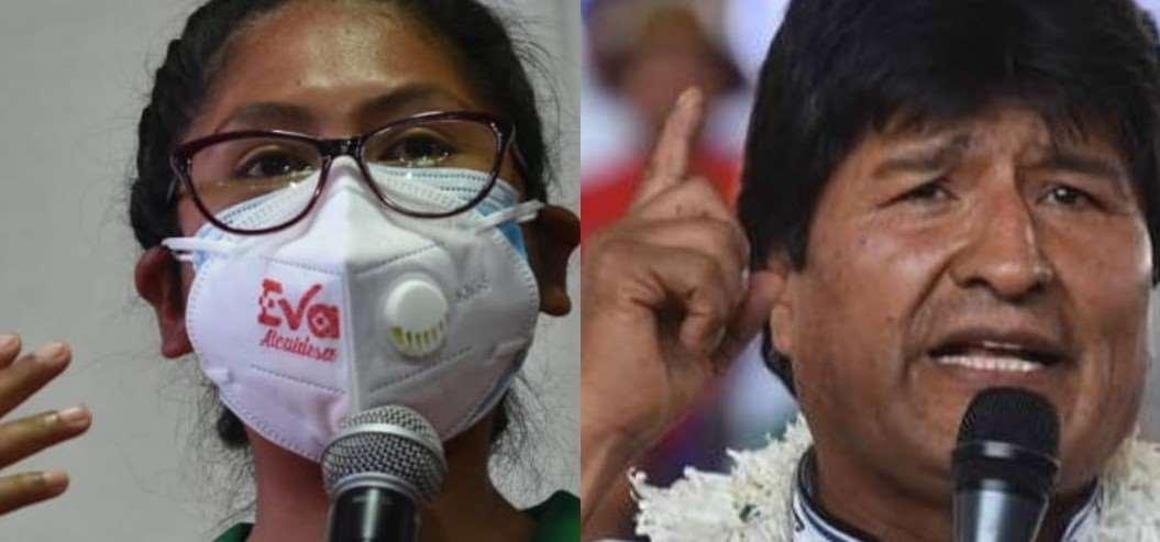 Evo Morales no pudo aguantar de referirse a Eva Copa y lo hizo en campaña (Foto: RRSS)