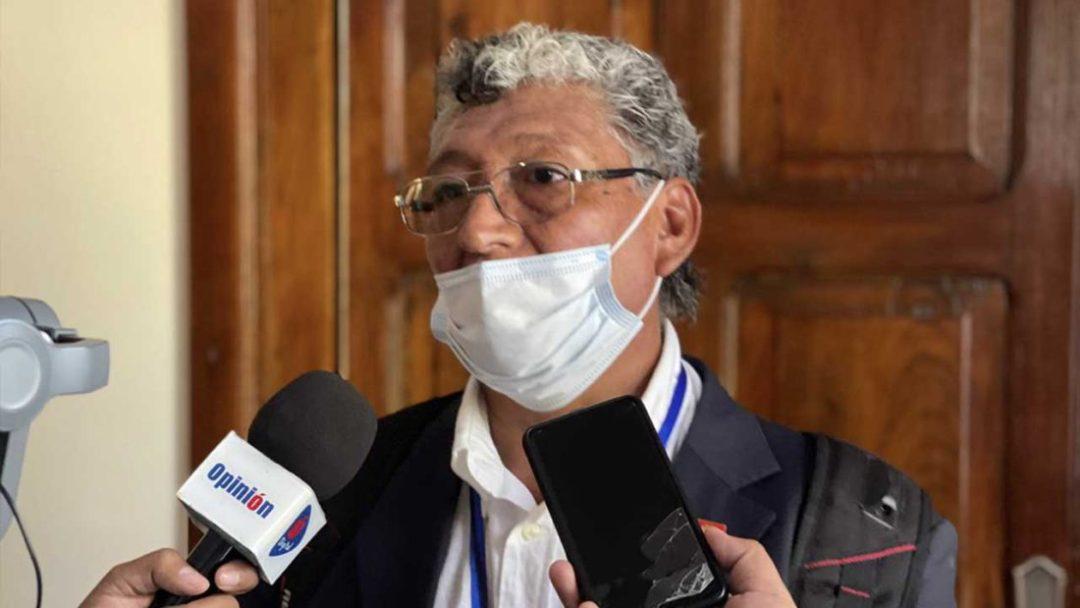 José Luís Funes en declaraciones para OPINIÓN. Alejandro Orellana
