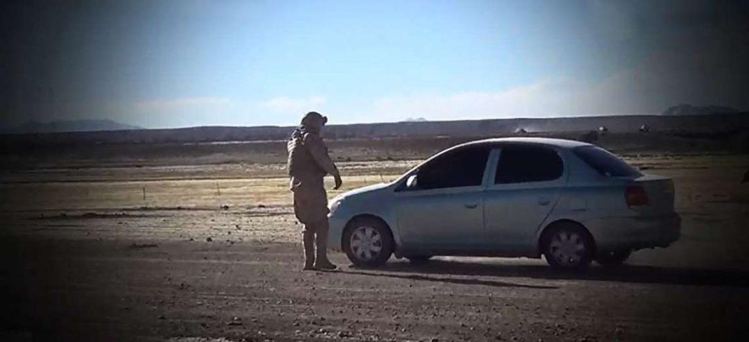 En Pocoata se movilizaron por un vehículo sin documentos que fue robado