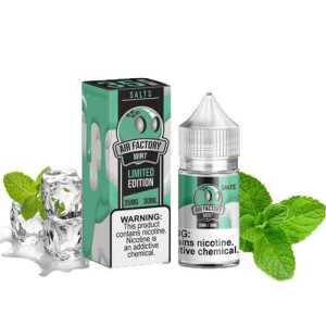 Mint Limited Edition Salts By Air Factory