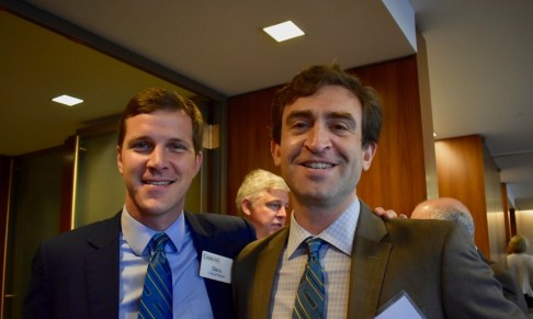 Dave Pollack (left) and Avren Frey, current Gibbons Fellows at Gibbons P.C.