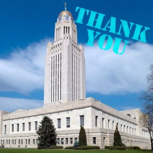 Thank you, Nebraska Senators!