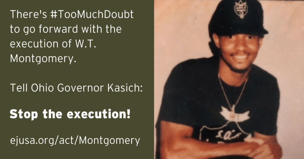 There's #TooMuchDoubt. Stop the execution!