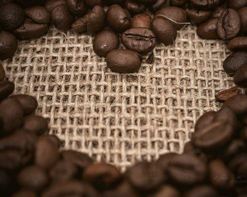 Free letölthető fotó: Kávészemek szív