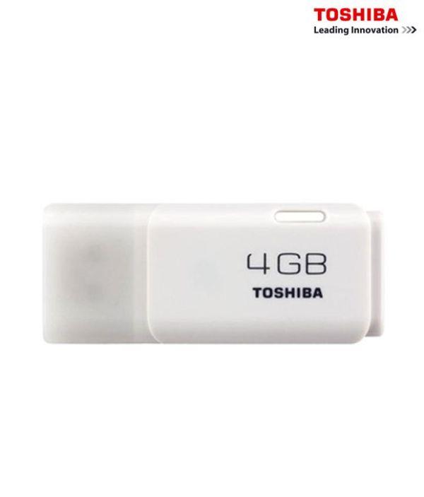 Toshiba 4GB Hayabusa Pendrive White 1346631 1 7001c