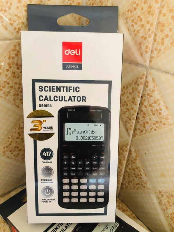DELI 991 ES SCIENTIFIC CALCULATOR