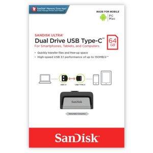 SanDisk Ultra Dual Drive Type C Pen drive – 64GB
