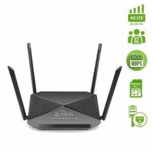 Stech Hyperrnova Universal 4G LTE Router – Black