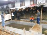 kolam ikan unit usaha kelompok dalam program ZCD di desa Bringinsari