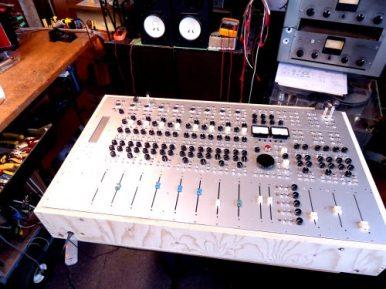 studio mixer . tube / transistor .. mostly transistor. a beauty!
