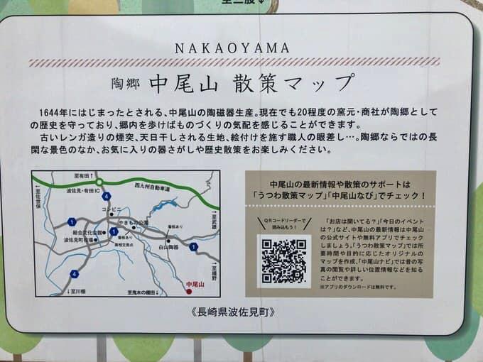 中尾山 散策マップ
