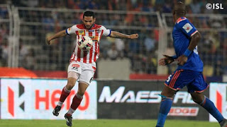The strategy of Habas gained 4, Baljit's red card spoiled Atletico de Kolkata's Party !!