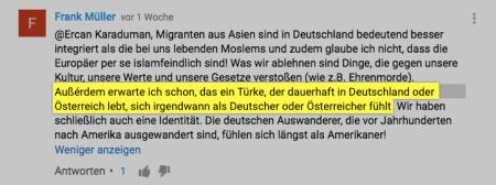 Frank Müller Kommentar