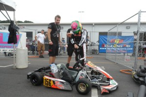 Horatio Fitz-Simon is among the new faces at the DKC/Sodi Kart operation, working with Jay Howard