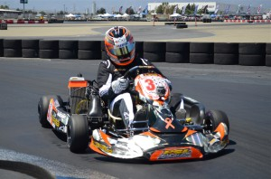 Matt Ostiguy finds the speed in the TaG Senior class at his most recent CalSpeed outing (Photo: Joe Stalker – LAKC)