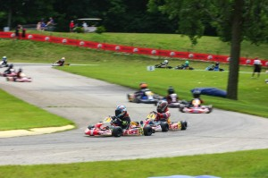 Mark J Fineis (leader) leads the points in a very competitive Yamaha Rookie Sportsman division heading to Pittsburgh (Photo: NCRM)