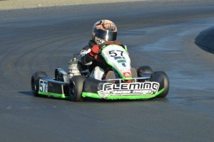 Justin Hodge lingered at the front all day, before picking up the win in PRD Junior 1 (Photo: Joe Stalker - LAKC)