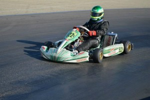 Alex King dominated the competition in Open 125 Shifter, sweeping the day (Photo: Joe Stalker - LAKC)