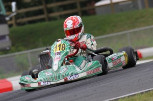 Serravalle will now turn his focus to the ECKC, where he is currently leading the Mini Max points  (Photo by: Gregory Lussier - babelphotos.ca)