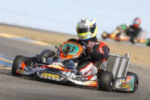 Californian Robert Marks is gunning for victory in the S4 Masters Stock Moto division in Lancaster (Photo: On Track Promotions - otp.ca)