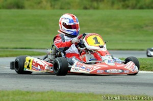 Taking his fifth victory of the season, Mike McAndrews secured the Semi-Pro title (Photo: DavidLeePhoto.com)