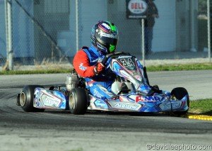 Eric Jones and Derek Dignan put KartSport AMR on the podium for a third straight year (Photo: DavidLeePhoto.com)