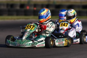 Michael d'Orlando came from 28th to 9th in the Rotax Mini Max main event  (Photo: d'Orlando Racing)