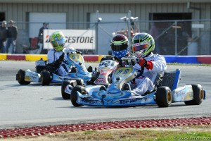 Top Kart USA entered two teams in the Robopong 200 and finished fourth with kart #57 (Photo: David Lee Photography)