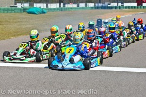 Zach Holden was a fixture at the front of the field in WKA and USPKS competition. (New Concepts Race Media)