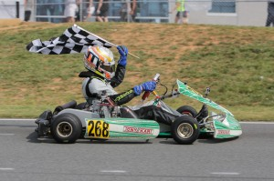 Newly-crowned US Junior Max champ Juan Manuel Correa adds to the stout Rotax Junior field (Photo: Ken Johnson - Studio52.us)