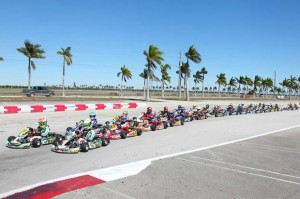 TaG Cadet will be the largest class once again during the 'Formula Kart' weekends (Photo: Ken Johnson - Studio52.us)