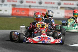 Nicholas Brueckner scored his first FWT top-10 finish in the Junior Max category during the Orlando Kart Center event (Photo: Ken Johnson - Studio52.us)