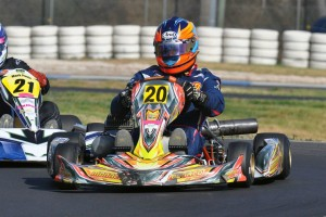 Horsham driver Remo Luciani racked up the 60th State Championship of his career (Pic: Mid Corner Photography)