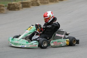 Austin Osborne swept TaG Senior, adding a pole position in KT100 (Photo: Shofner Films)