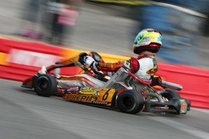 Jake French secured two pole position, turning one into a Prefinal win in Stock Honda Lite (Photo: Shofner Films)