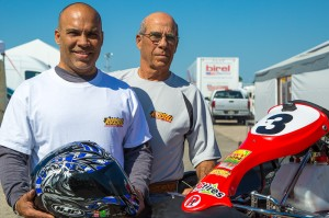 Miguel Gransaull and his father Michael (Photo: Ken Johnson - Studio52.us