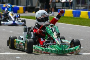 Josh Pierson emerged from the Micro Max category with the point lead thanks to two feature wins (Photo: SeanBuur.com)