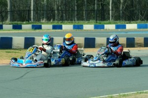 KartSport North America enjoyed home court advantage at the GoPro facility, scoring a 1-2-3 finish in Leopard Pro (Photo: DavidLeePhoto.com)