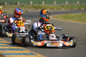 Sabré Cook added two Rotax Challenge of the Americas victories to impressive karting resume (Photo: SeanBuur.com)