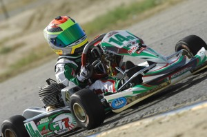 Double SummerNationals 2013 winner Dylan Tavella is an early favorite in TaG Cadet this weekend (Photo: On Track Promotions - otp.ca)