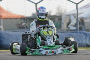 Ryan Urban in Platinum Glass 125cc Rotax Max Heavy/Masters (Photo: Fast Company/Graham Hughes)