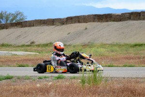 Corbyn Andrews battled all weekend for the Mini Max win, scoring the victory on Saturday, and a second place finish on Sunday (Photo: Chrissy Anzlovar)